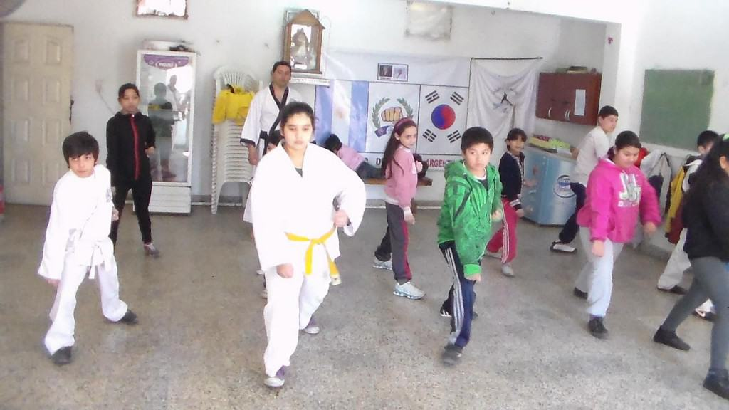 Teaching Kids in Buenos Aires, Argentina